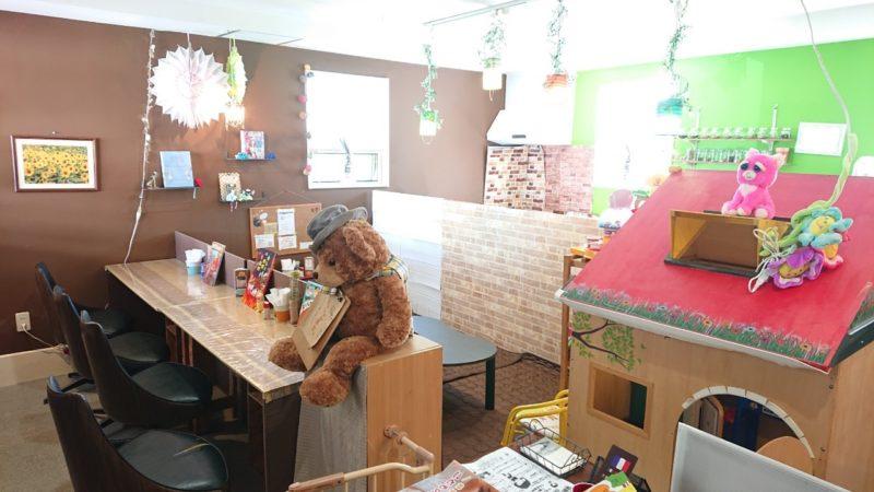 沖縄市東ちいさなカレー屋さんパプリカの店内