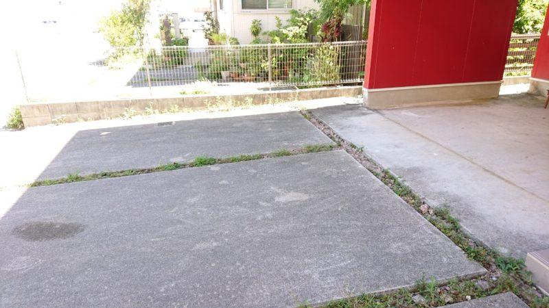 沖縄市東ちいさなカレー屋さんパプリカの駐車場
