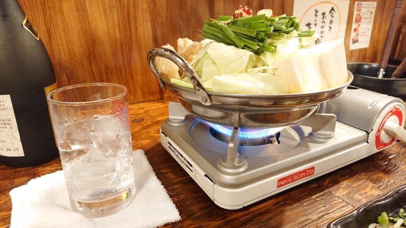 沖縄市牛モンのモツ鍋