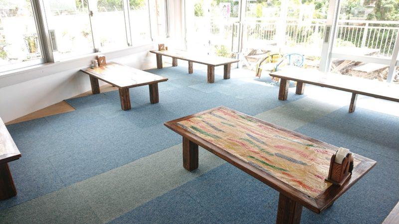 沖縄こどもの国レストラン海族工房の店内