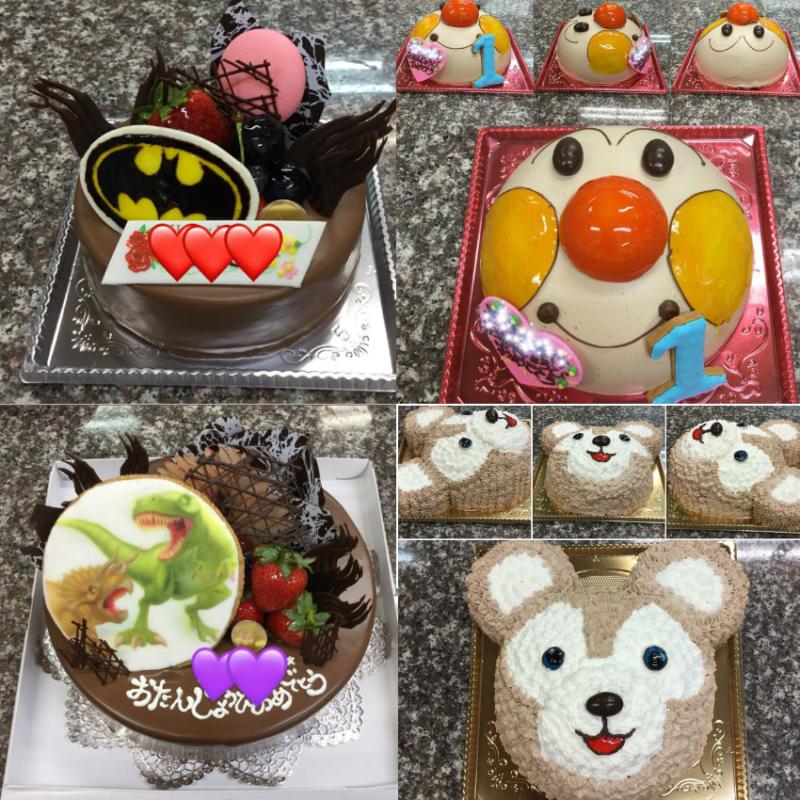 沖縄市上地ケーキハウス夢翔(ゆめか)のケーキ