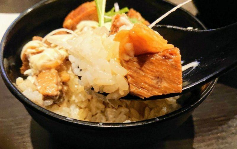 麺屋武虎沖縄市泡瀬の豚めし