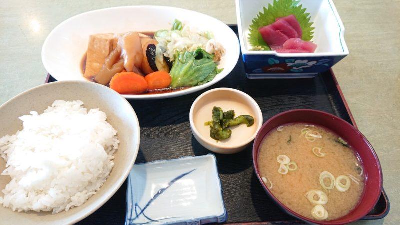 沖縄市胡屋なか・ゆくいの野菜の煮付け定食