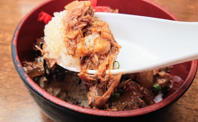 沖縄市泡瀬我部祖河そばのホロホロソーキ飯