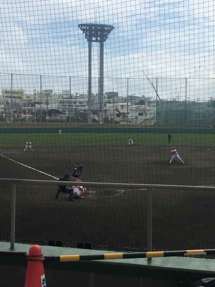 沖縄市コザしんきんスタジアム広島カープキャンプ