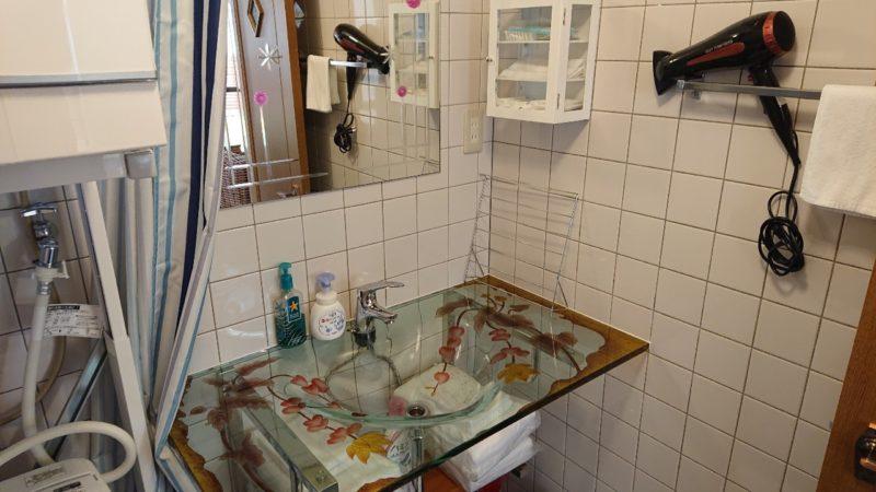 沖縄市美里仲原町BELLHOUSE(ベルハウス)の洗面台