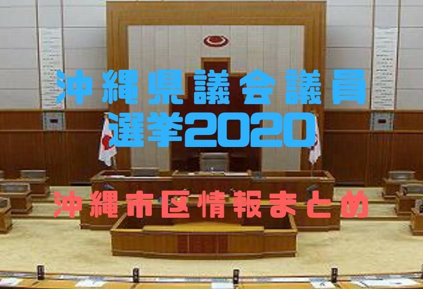 沖縄県議会議員選挙2020