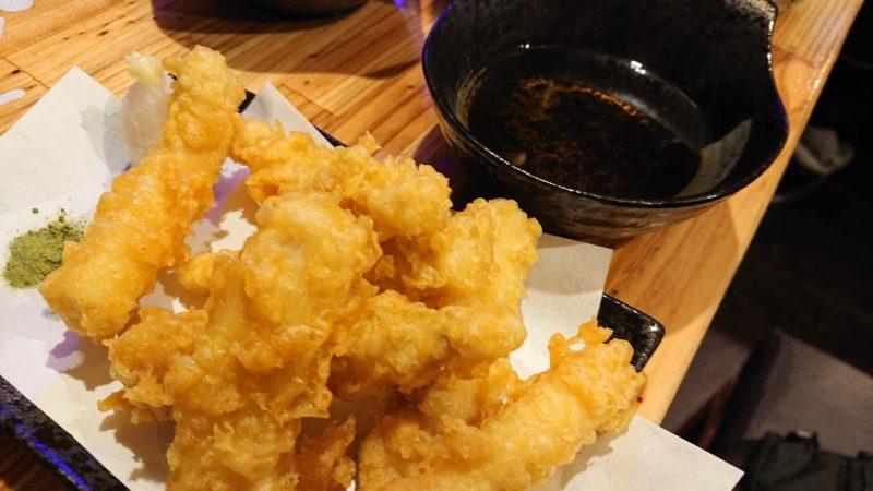 沖縄市高原酒と肴ゆいまぁーるの魚天