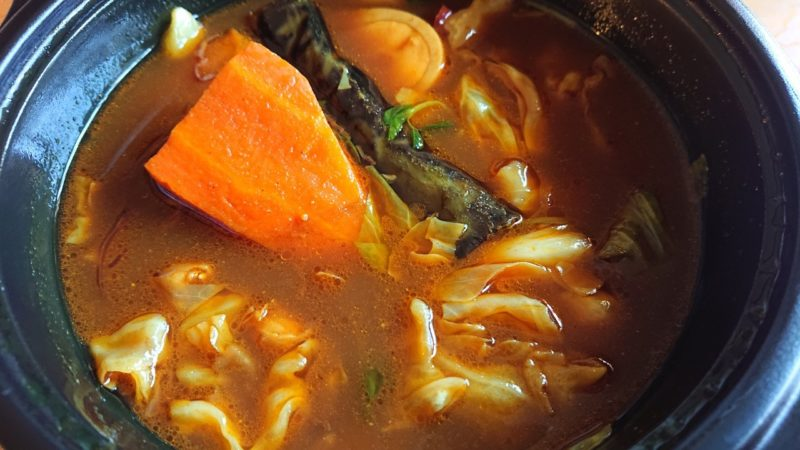 沖縄黒糖カレーあじとや沖縄市泡瀬のスープカレー