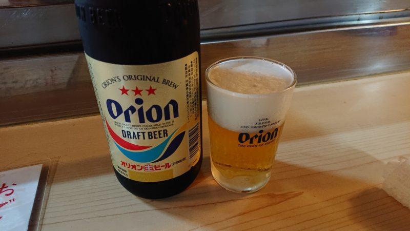 おでん小町沖縄市上地中の町のビール