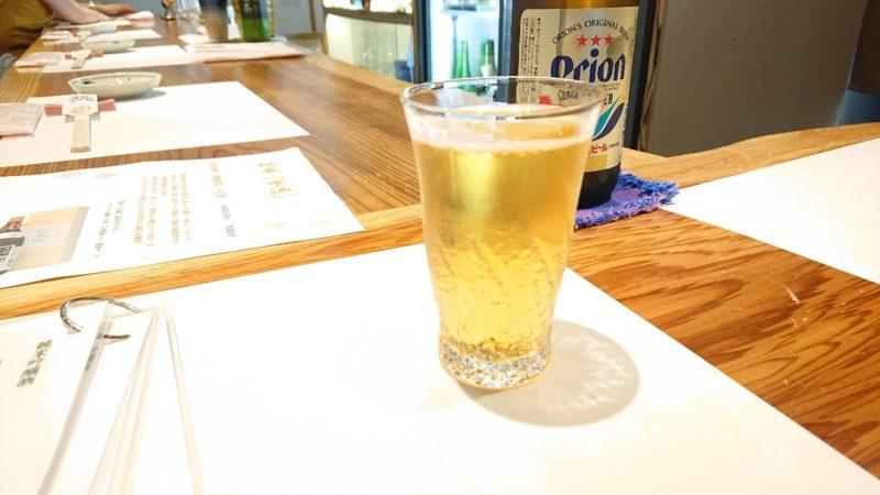 日本酒バー越佐(えっさ)沖縄市中央のオリオンビール