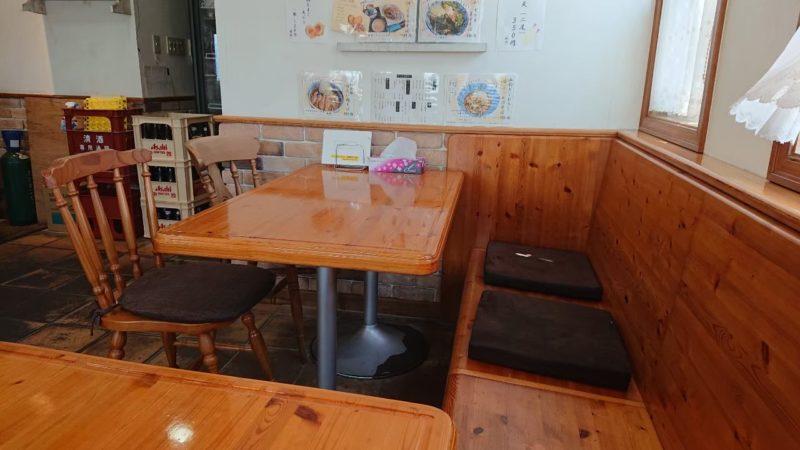 みちのくキッチンJIN(ジン)沖縄市比屋根の店内