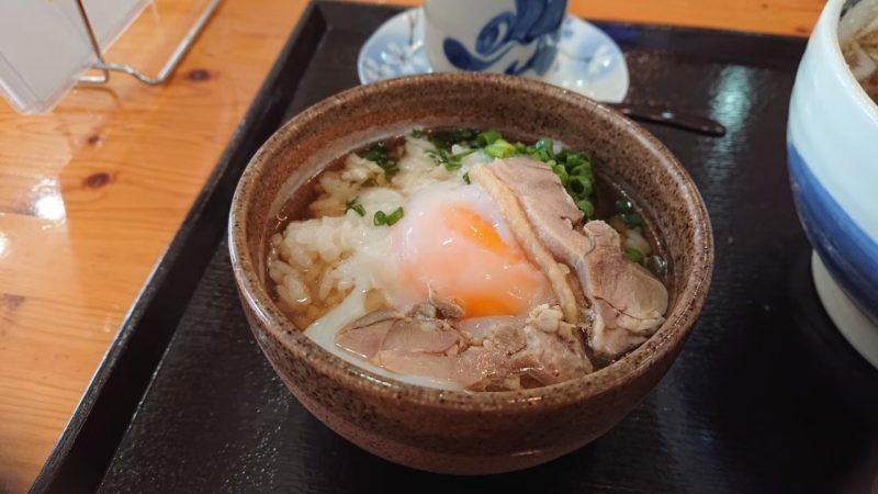 みちのくキッチンJIN(ジン)沖縄市比屋根の卵かけごはん
