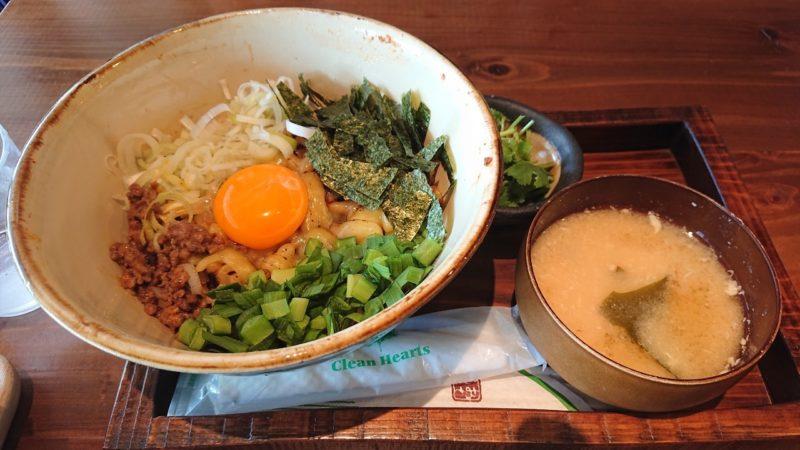まぜ麺マホロバコザ沖縄市中央の台湾まぜ麺