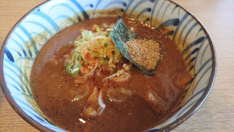 沖縄市知花つけ麺ジンベエのつけ汁