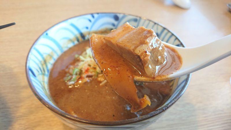 沖縄市知花つけ麺ジンベエのチャーシュー