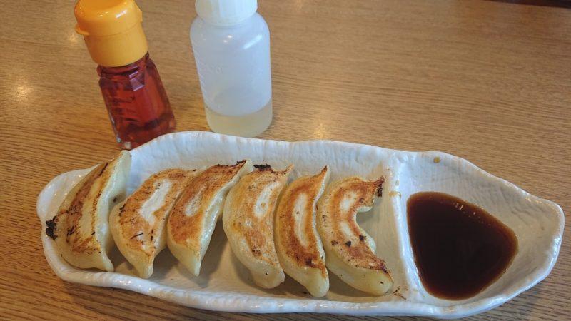 沖縄市知花つけ麺ジンベエのギョーザ