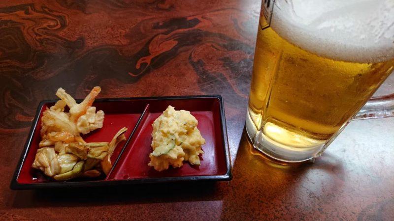 沖縄市久保田居酒屋仁のビール