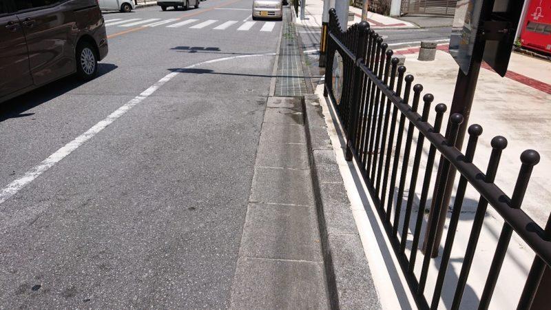 パーラーサオコマ沖縄市胡屋の駐車場