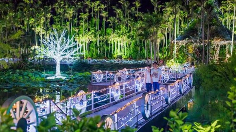 東南植物楽園イルミネーションひかりの散歩道2020