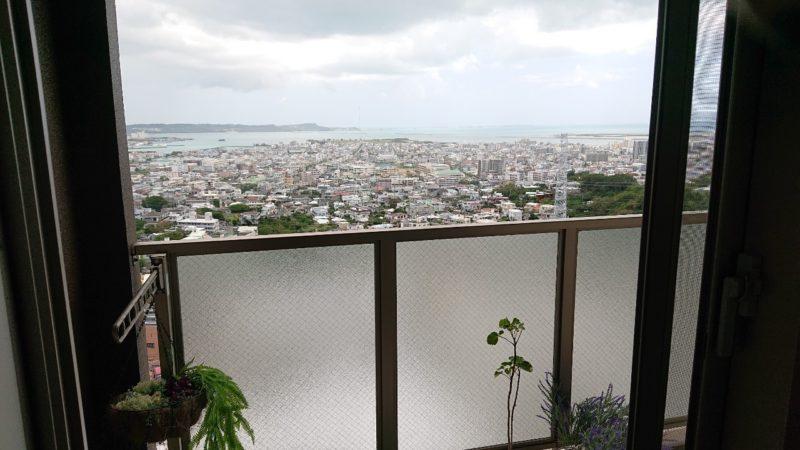 イマココカフェ(imacococafe)沖縄市高原の景色