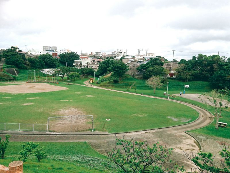 沖縄市バスケットができる公園