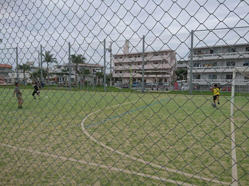 沖縄市のフットサルができる公園