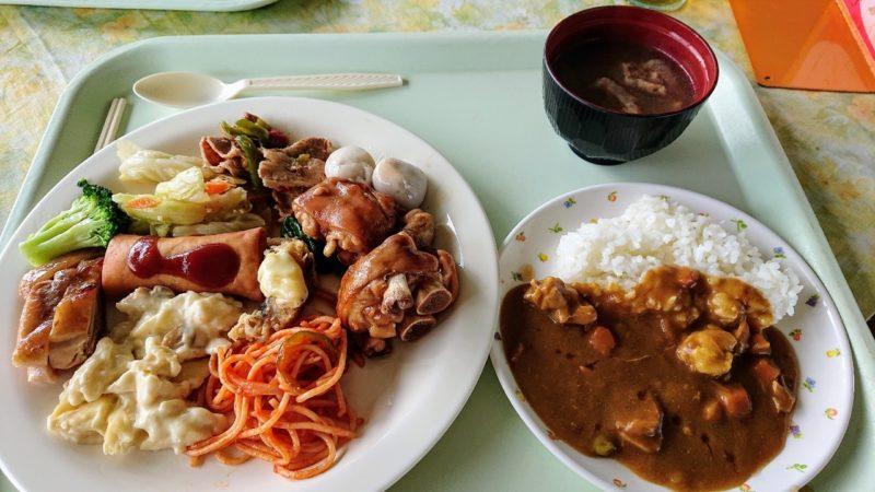 パークレストラン花沖縄市比屋根のランチバイキング