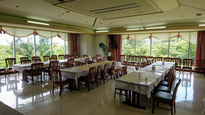 パークレストラン花沖縄市比屋根のパーティールーム