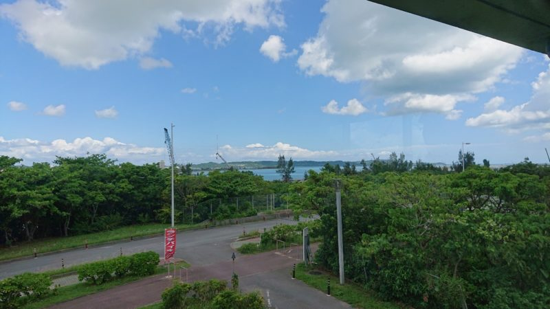 パークレストラン花沖縄市比屋根の景色