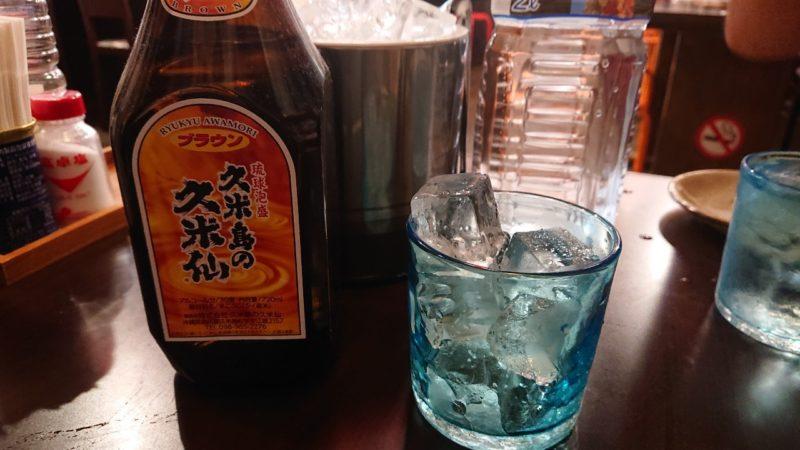 大衆居酒屋龍沖縄市中の町の泡盛