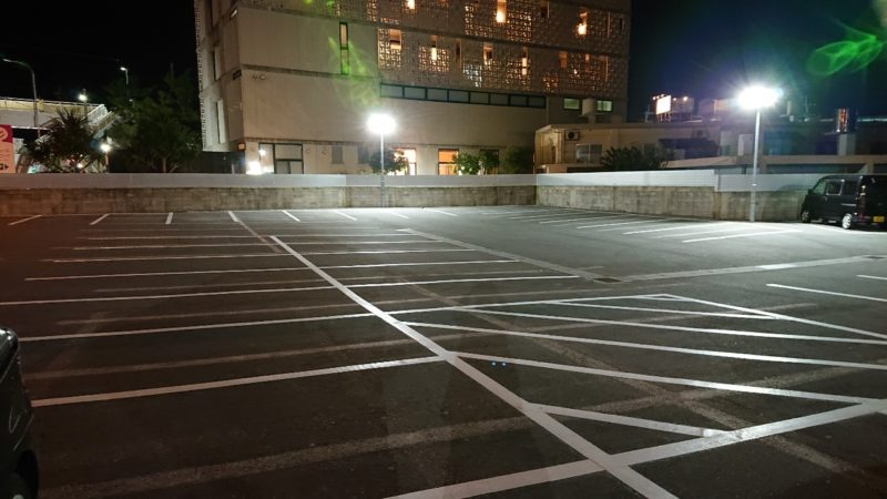 ステーキハウス88沖縄市美里の駐車場