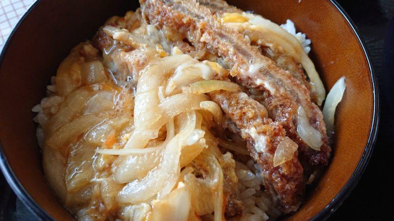 慶山うどん沖縄市松本のかつ丼