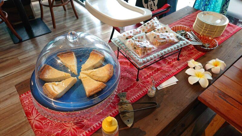 カフェマカナレイ沖縄市泡瀬のデザート