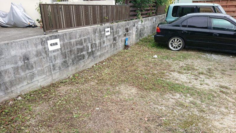 b.crea(ビークレア)沖縄市安慶田の駐車場