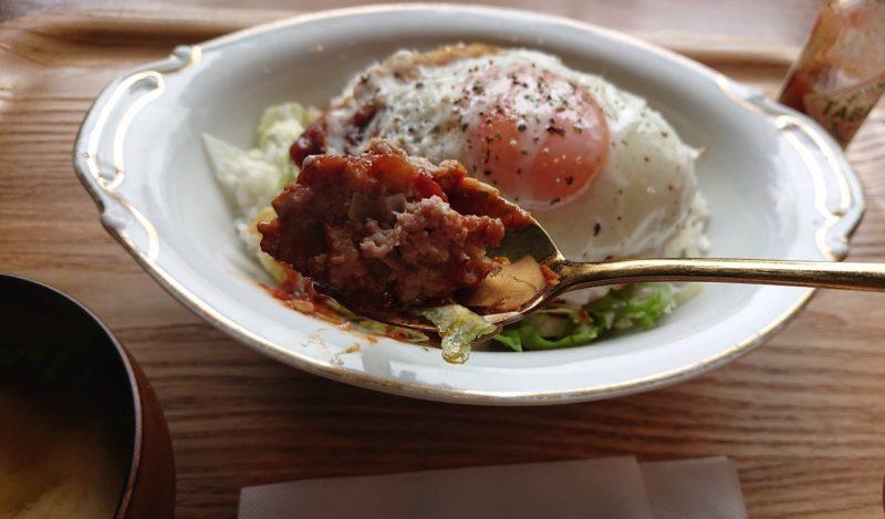 cafe ouchi:(カフェオウチ)沖縄市中央のロコモコ