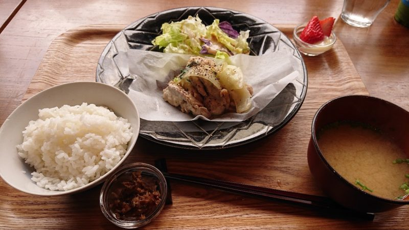 cafe ouchi:(カフェオウチ)沖縄市中央の日替わりプレート
