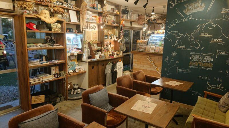 BB coffee(ビービーコーヒー)沖縄市泡瀬の店内