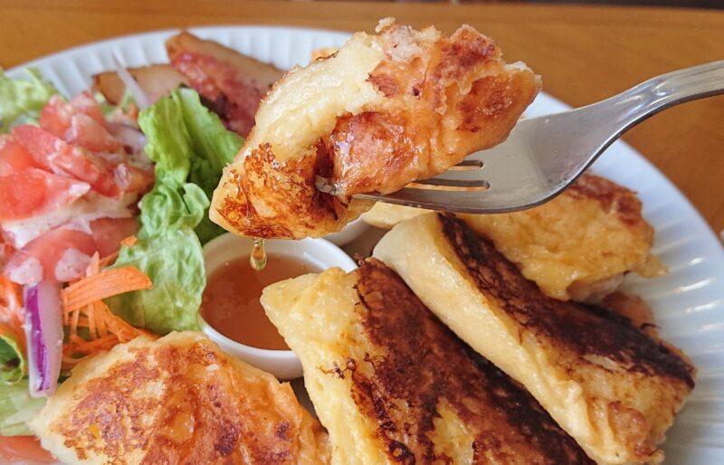 Zu-Zu sandcafe(ズズ サンドカフェ)沖縄市美里のフレンチトースト