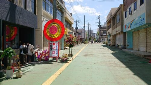DowntownDonuts(ダウンタウンドーナツ)沖縄市照屋銀天街の外観