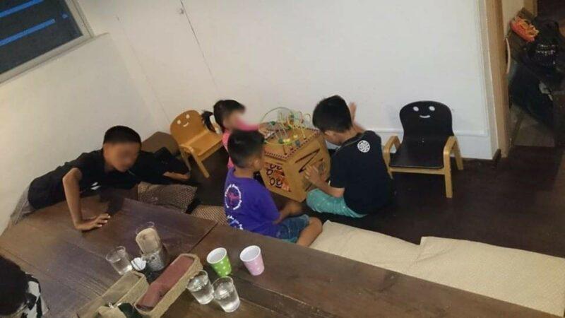 バードランドカフェ沖縄市胡屋のキッズルーム