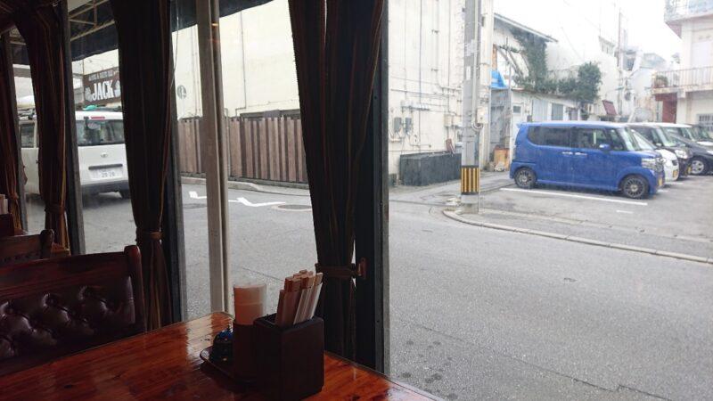珈琲美学やま沖縄市中央の店内