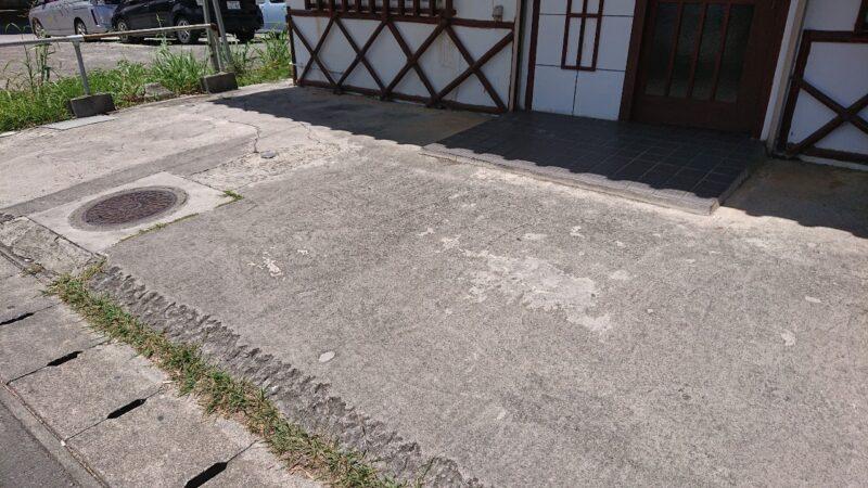 お食事処味広沖縄市泡瀬の駐車場