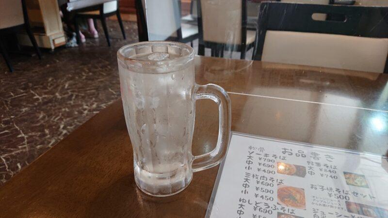 居酒屋ダイニングKotobuki(ことぶき)沖縄市大里のお冷