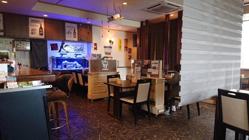 居酒屋ダイニングKotobuki(ことぶき)沖縄市大里の店内