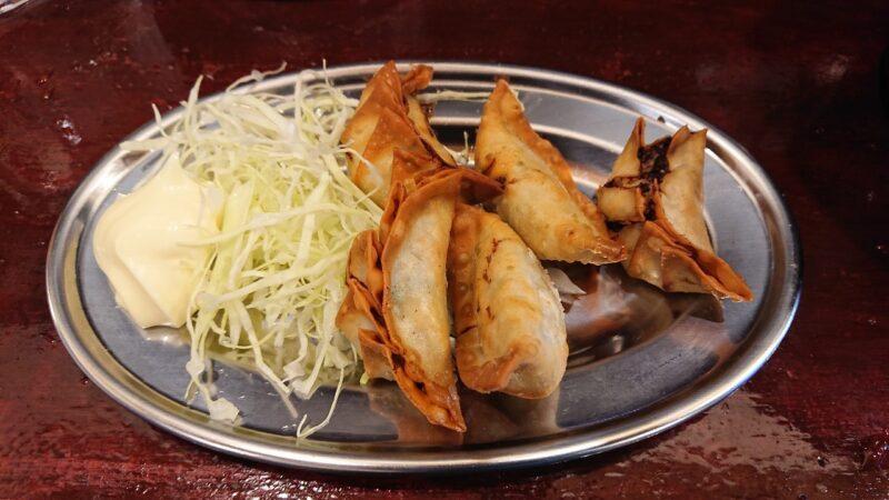 餃子酒場やまと×博多ラーメン極麺うまか沖縄市上地の揚げ餃子
