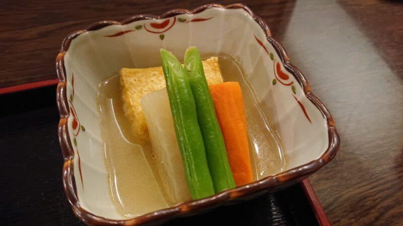 デイゴホテルレストランうりずん沖縄市中央の魚定食(煮付け)煮物