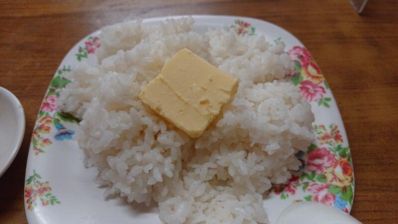 丸長食堂(まるながしょくどう)沖縄市美里のバターライス