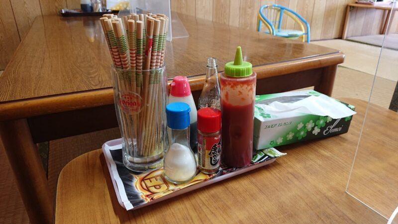 丸長食堂(まるながしょくどう)沖縄市美里の調味料