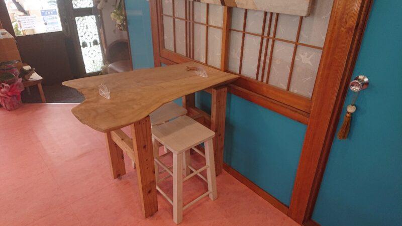 CHIHANA CAFE(チハナカフェ)・庵土(あんど)沖縄市胡屋の店内